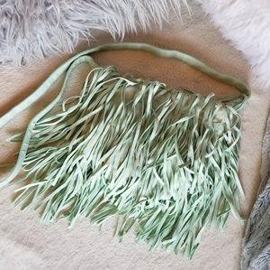 Bags - Mint Fringe Crossbody